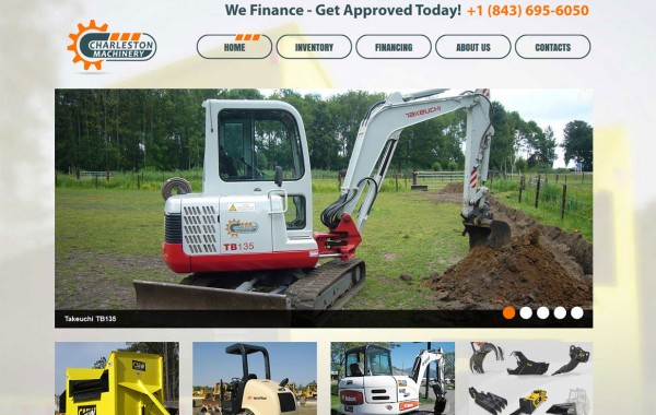 Charleston Machinery Website