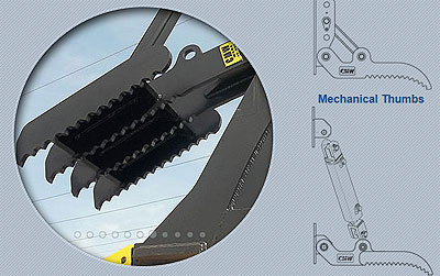Excavator Thumbs Slider