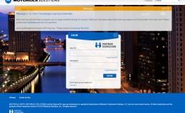 Motorola Solutions Login Page